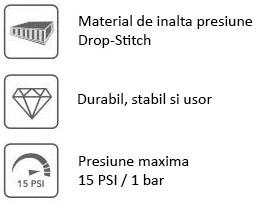 Material DWT de inalta presiune, durabil, presiune maxima 15psi